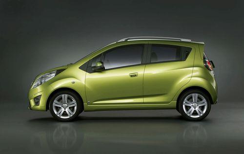 Chevrolet Spark, información oficial