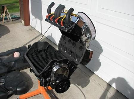 Chevrolet V8 barbacoa, lo último en parrillas