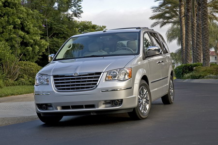 Chrysler Grand Voyager 2008. La nueva generación del Chrysler Grand Voyager