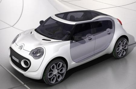 Citroën C-Cactus Concept, tecnología híbrida HDi