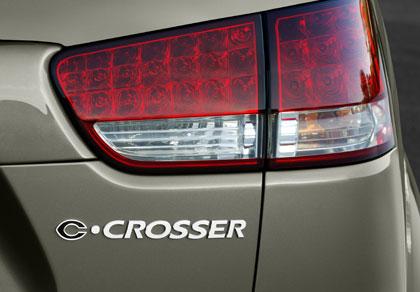 Citröen C-Crosser, el C7 que llegará al mercado