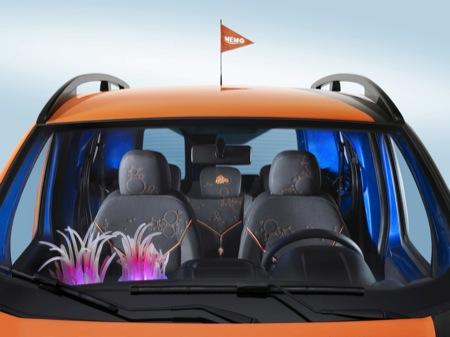 Citroën Nemo Concetto, vehículo comercial de diseño