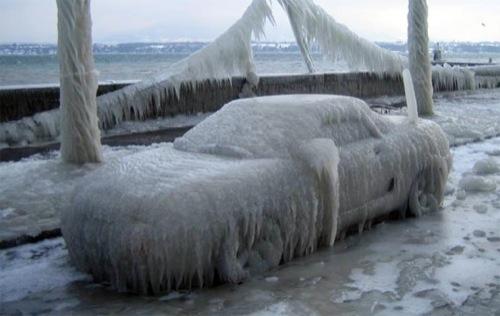 """El """"CuervoMovil"""" esta muy frio."""