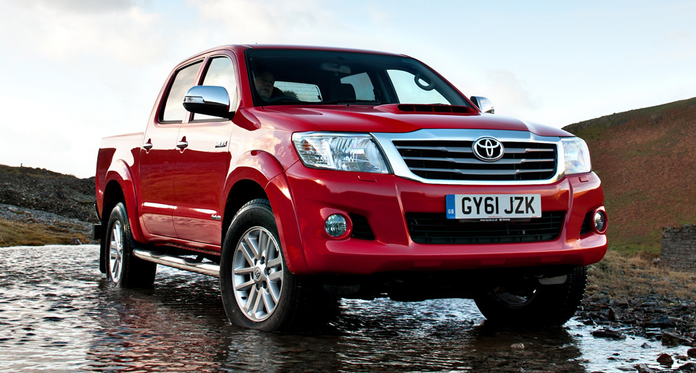 Toyota Hilux 2013 Tuning