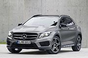 Coche Mercedes GLA