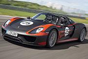 Coche Porsche 918 Spyder