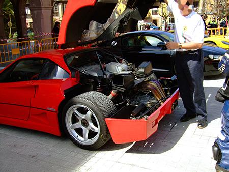 Concentración Ferrari Porsche Comillas 2008