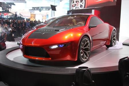 Detroit NAIAS Mitsubishi Concept-RA