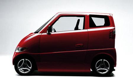 Tango, curioso utilitario eléctrico achatado de Commuter Cars