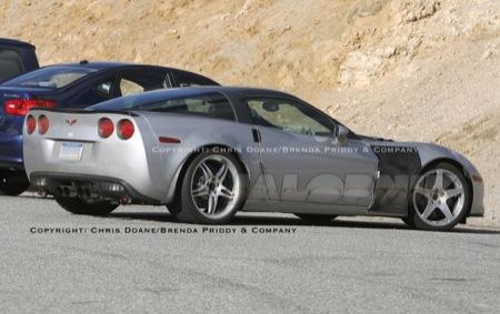 Fotos espía del Corvette ZR1