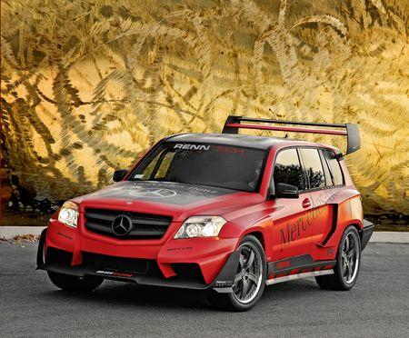 Cuarteto de Mercedes GLK para el SEMA Show, más información