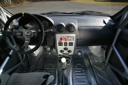Dacia Logan Cup, modelo barato de rally