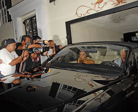 Rolls-Royce Phantom Drophead Coupe de David Beckham