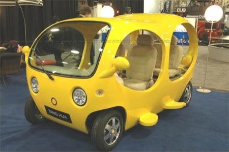 The Detroit Fish, pequeños prototipos chinos eléctricos