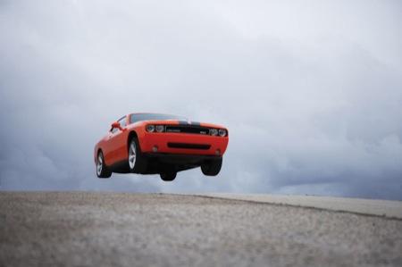 Dodge Challenger SRT8, imágenes previas a Chicago