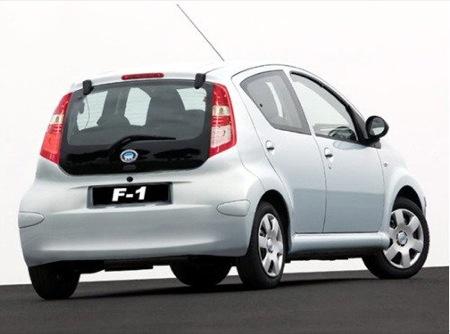 El coche más barato del mundo y una copia del Aygo: BYD F1