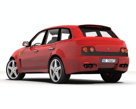 Ferrari FS 599 Fuoristrada, ¿un SUV de la marca de Maranello?