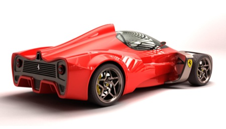 Ferrari Zobin Concept Study
