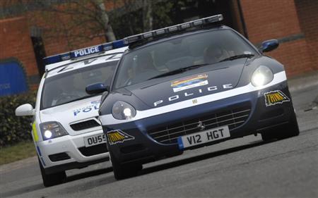 Ferrari 612 Scaglietti Police UK