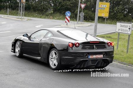 Ferrari F430 Challenge Stradale, fotos espía