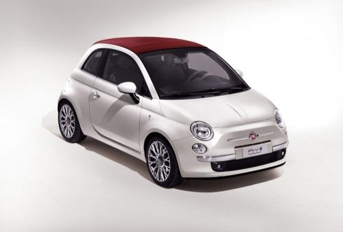 Fiat 500C, primeras fotos oficiales