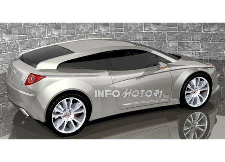 Recreación del nuevo Fiat Coupé