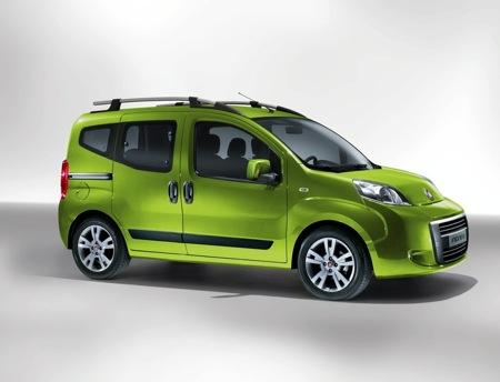 Fiat Fiorino MPV, versión verde actualizada