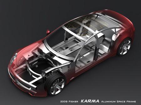 Fisker Karma, imágenes del modelo de producción y más datos