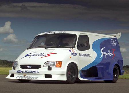 Ford Transit Supervan, la trilogía de superfurgonetas