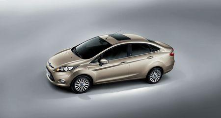 Ford Fiesta Sedán, para los mercados chino y norteamericano