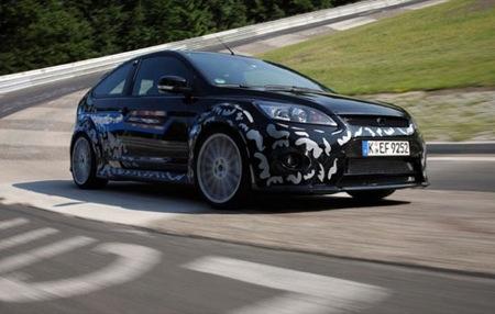 Ford Focus RS, fotos reales de las últimas pruebas