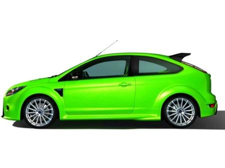 Aparentes imágenes del Ford Focus RS