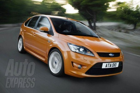 Fotos oficiales del Ford Focus ST 2008