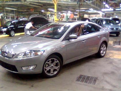 Ford Mondeo 2007, fotos de fábrica