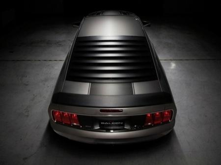 Ford Mustang Saleen H320SC, colaboración de 580 Cv