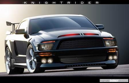 Imágenes del nuevo coche fantástico y trailer de la película