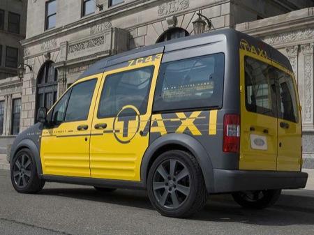 Ford Transit Connect Taxi, un moderno taxi en New York