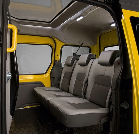 Ford transit connect taxi un moderno taxi en new york