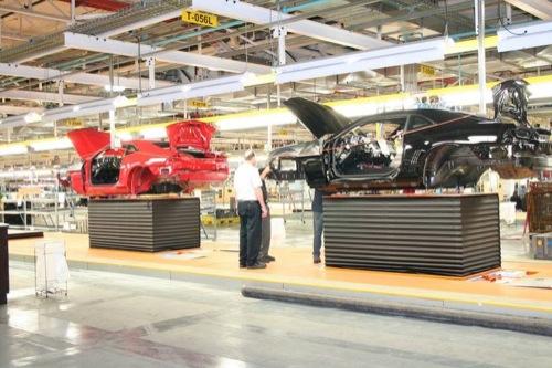 Fotos de fábrica, el Chevrolet Camaro de pre-producción