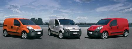 Nuevas furgonetas pequeñas de Citroën, Peugeot y Fiat