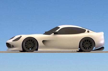 Ginetta G50, futuro coupé británico de 300 Cv