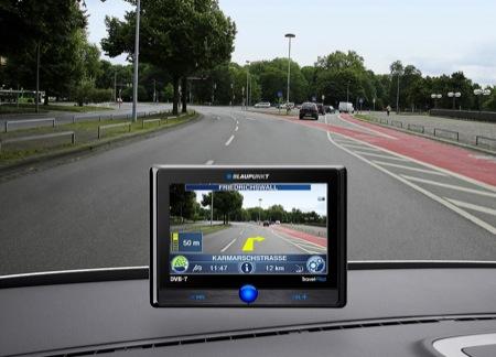 GPS portátil que utiliza imágenes frontales en tiempo real