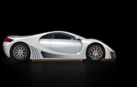GTA Concept, un superdeportivo con cuerpo español