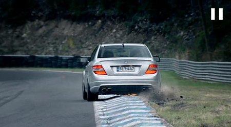 Mercedes C63 AMG Mika Hakkinen