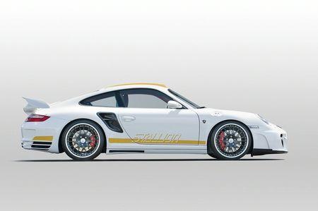 Hamann Stallion basado en un Porsche 911 Turbo