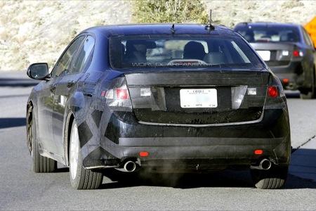 Honda Accord sedán 2008, fotos espía y datos