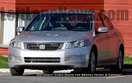 Fotos espía del Honda Accord Sedán 2008