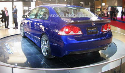 Honda Civic Hybrid Sports