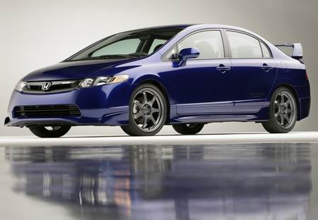 Honda Civic Si Sedán preparado por MUGEN