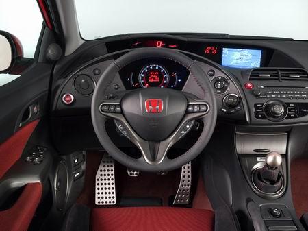 Nuevas imagenes y datos del Honda Civic Type-R 2007
